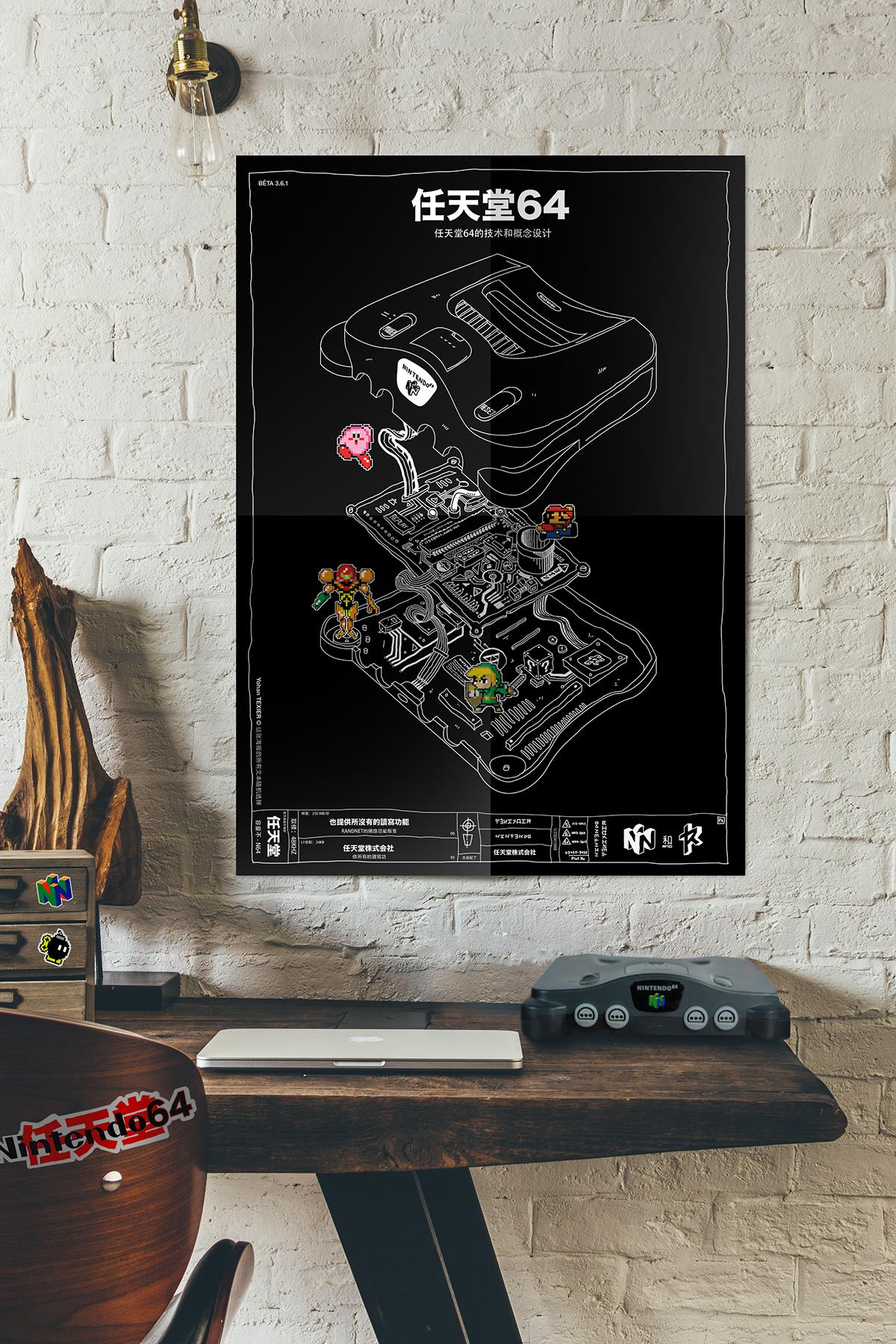 n64 yohan texier print